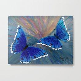 Butterflies-2  Metal Print