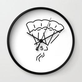 paraglider airman Wall Clock
