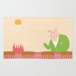 Pig's Bar Rug