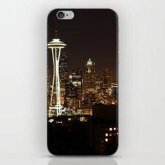 Simply Seattle iPhone & iPod Skin