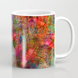 The Dissonant Tolls of September Bells (abstract, psychedelic) Coffee Mug