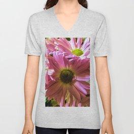 Sheltering Florals Unisex V-Neck