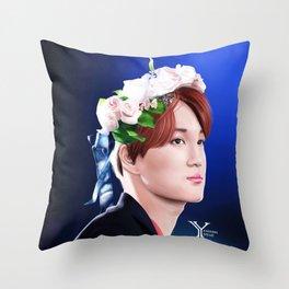 Flowerly Kai Throw Pillow