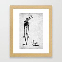 k-2SO GOSTH Framed Art Print