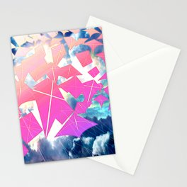 Easter Kites Stationery Cards