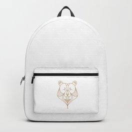 Gold Bear One Backpack