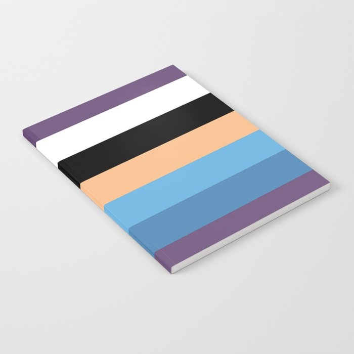 Pretty Lines Notebook