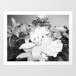 Stop n smel the flowers Art Print