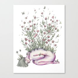 """""""From my rotting body, flowers shall grow, and I am in them, and that is eternity."""" Canvas Print"""