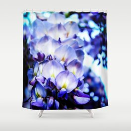 Flowers magic 2 Shower Curtain