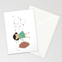 Windy Day Stationery Cards