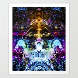 The Center Of Imagination Art Print