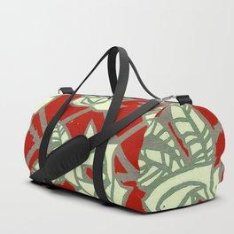 Red Rose Trellis Duffle Bag