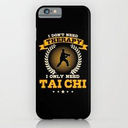 Tai Chi Gift iPhone Case