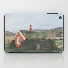 Lindarbakki House, Iceland iPad Case
