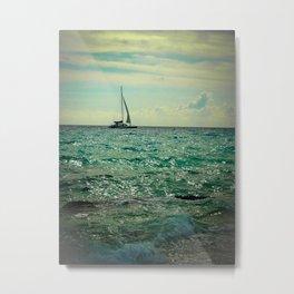 sailin Metal Print