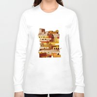 team fortress Long Sleeve T-shirts featuring The fortress at sunset by Chicca Besso