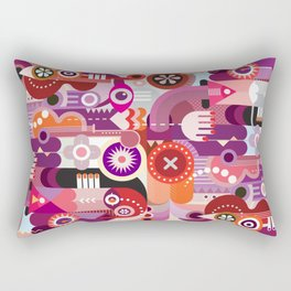 Graphic Design Background Rectangular Pillow