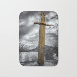 Llanberis Sword Snowdonia Bath Mat