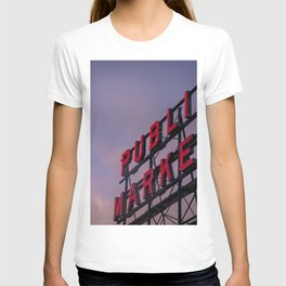 Pike Place Neon Sunrise T-shirt