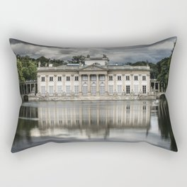 Pretty palace in Warsaw Rectangular Pillow