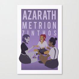 Azarath Metrion Zinthos Canvas Print