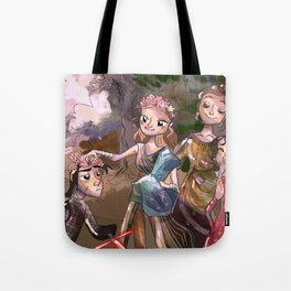Ye Olde Galaxy Far Far Away Tote Bag
