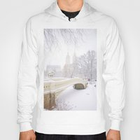 central park Hoodies featuring Central Park by Vivienne Gucwa
