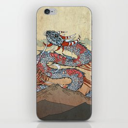 Fire on the Mountain iPhone Skin
