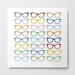 Glasses #3 Metal Print