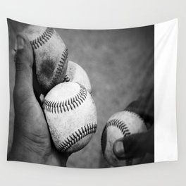 Batting Practice Wall Tapestry