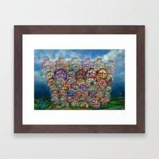 Big City 2013 Framed Art Print
