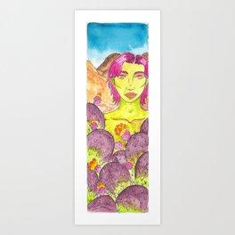 Desert Dryad Art Print