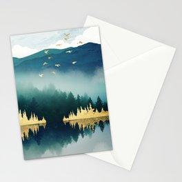 Mist Reflection Stationery Cards