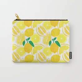Lemon Harvest Carry-All Pouch