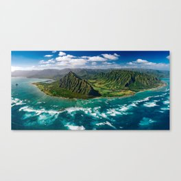 Jurassic Park Panoramic Canvas Print