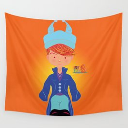 Le petit Mikel /Character & Art Toy design for fun Wall Tapestry