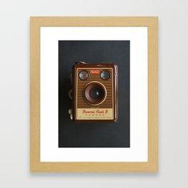 Vintage Box Brownie Camera Framed Art Print