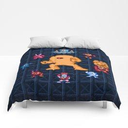 Man Mega One Pixels Comforters