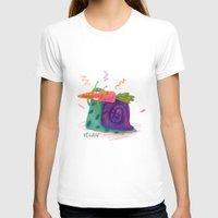 vegan T-shirts featuring Vegan by Vikte Eziukas