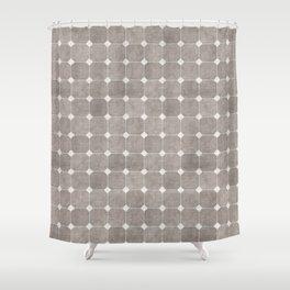 ZHI RIAD GREY Shower Curtain