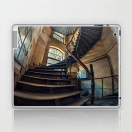 Old forgotten staircase Laptop & iPad Skin