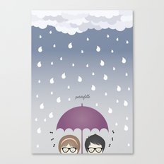 Oh, rainy day! Canvas Print