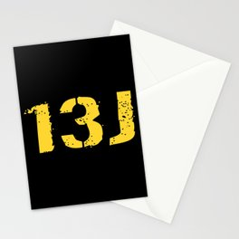 13J Fire Control Specialist Stationery Cards