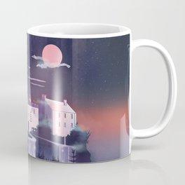 Waterfall Castle Coffee Mug