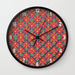 Tovagliolo di Festa Wall Clock