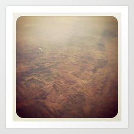 MARS IN MEXICO Art Print