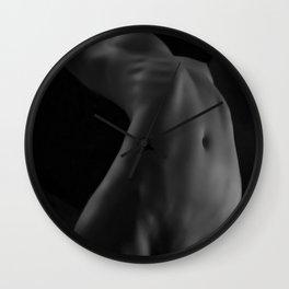 Naked Nude Model 59 Wall Clock