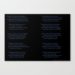 The Children's Hour Canvas Print