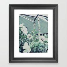 Rose of Sharon ~ flower photography Framed Art Print